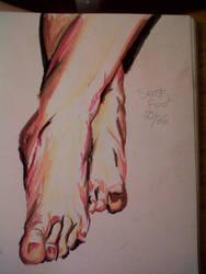 Senshi foot 25/26 by LadyKylin