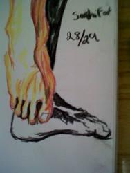 Senshi foot 28/29 by LadyKylin