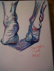Senshi foot 30-32 by LadyKylin
