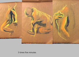 five minute gestures by LadyKylin