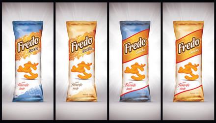 Fredo snacks Packaging by Viboo