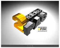 Remember 2PAc logo by Viboo
