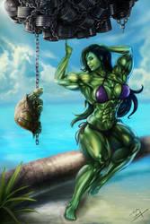 She-Hulk by m4gx by cerebus873
