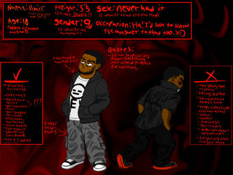 Updated Meet The Artist by BlackandRedCynicXD