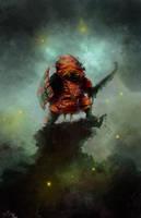 Swamp warrior by Goottipoju
