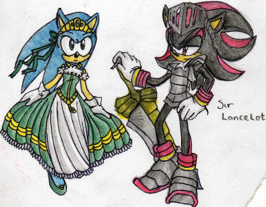 Black Knight, LancelotxSonica By DawnHedgehog555 On DeviantArt