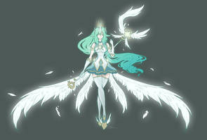 Star Guardian Soraka (LoL fanart) by MappuArt