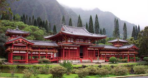 Byodo-In Temple__Hawaii 05 by almalthia