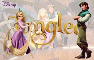 Tangled Wallpaper by ViolettaGiada