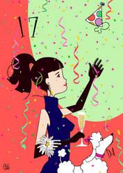Happy 17th Birthday DA! by ejohanne