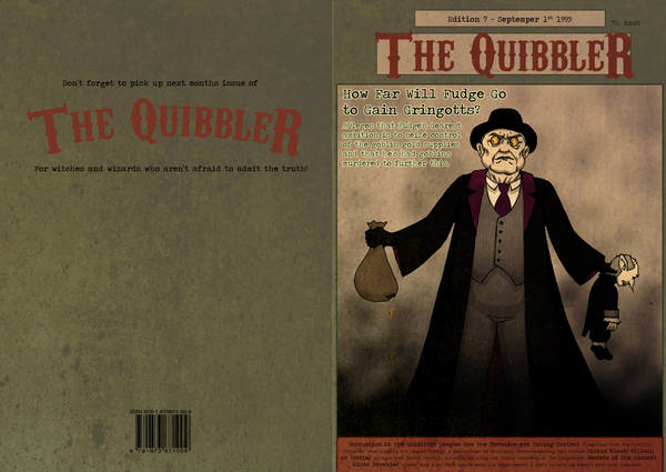 The Quibbler - Sep 1995 by ScandinavianLullaby