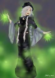 Necro Sorceress by gaspare