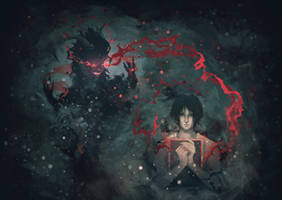 demon inspiration by SleepyMavka