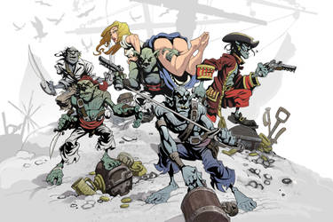 Goblin Pirates by oldgallego