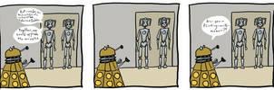 Cybermen+Daleks by SmudgeThistle