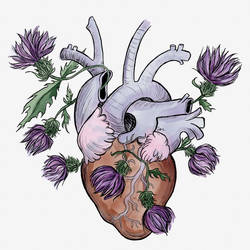 Thistle Heart by SmudgeThistle