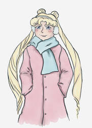 Winter Usagi by SmudgeThistle