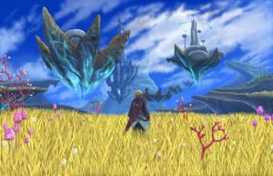 Xenoblade Chronicles-Eryth Sea by Midnight-on-Mars