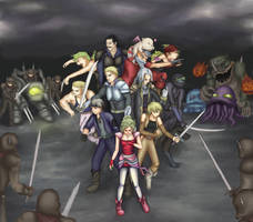 The Returners~ Final Fantasy VI by Midnight-on-Mars