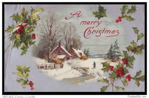 VINTAGE Christmas 13_quaddles by quaddles