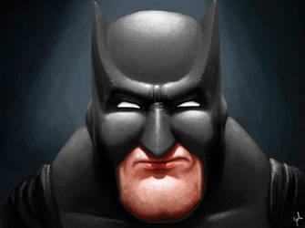Batman (Beginning digital painting.) by Plombuk