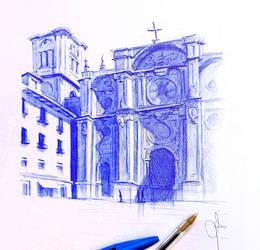 Catedral de Granada. by Plombuk