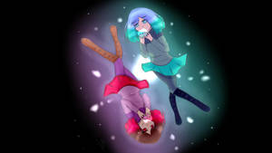 Amber and Betty from GLITCHTALE by Yuki-Plume