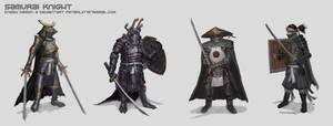 Samurai Knight by EnemyDesign