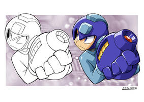 Megaman Classic by t-wong
