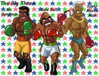POS 20: The Big Three by random6teenfanXD