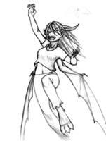Leona half dragon by Chacartz