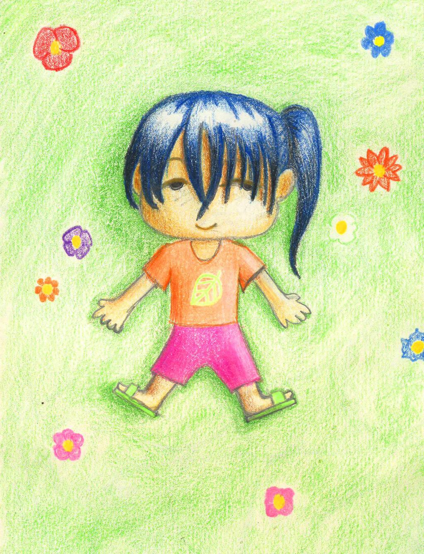 Laos kid by Chacartz