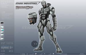 Stark Enterprises ROBOCOP by NateJ25