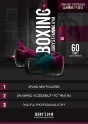 Flyer Boxing Training Gym by n2n44