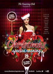 Flyer Dancing Club Special Christmas Eve by n2n44