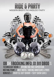 Modern Bikers Ride And Party by n2n44