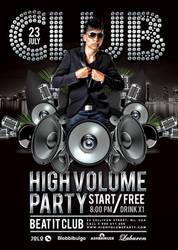High Volume Party In Club by n2n44