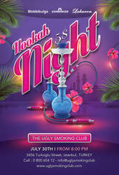 Smoking Hookah Night In Istanbul Club by n2n44