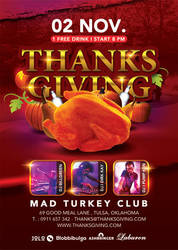 Thanksgiving Special Party In Turkey Club by n2n44