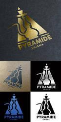 Pyramide Shisha Bar Logo by n2n44
