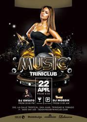 Club Flyer by n2n44