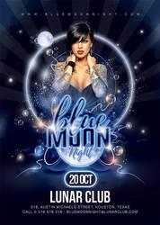 Blue Moon Party by n2n44