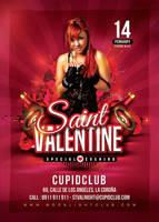 Saint Valentine Flyer by n2n44
