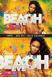 Beach Eve by n2n44