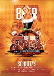 Oktober Fest Beer Party by n2n44
