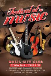 Festival Or Concert Of Music In Club by n2n44