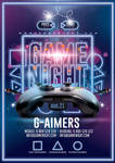 Game Night Flyer by n2n44