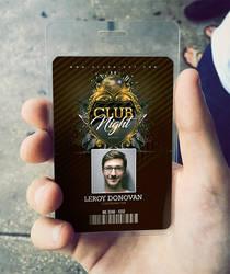 ID Card Barocco Club Badge by n2n44