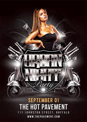 Urban Night Party Flyer by n2n44