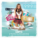 Squared Back To School Flyer by n2n44